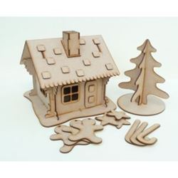 Picture of MDF Gingerbread House