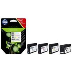 GENUINE HP 950XL 951XL Black Cyan Magenta Yellow Combo C2P43AE Same Day Despatch