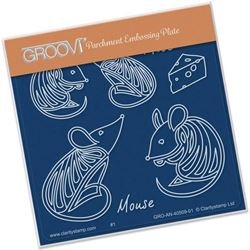 Feline Delights Groovi A6 Square - Mice