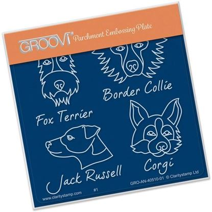Kennel Club Groovi A6 Square - Dog Breeds