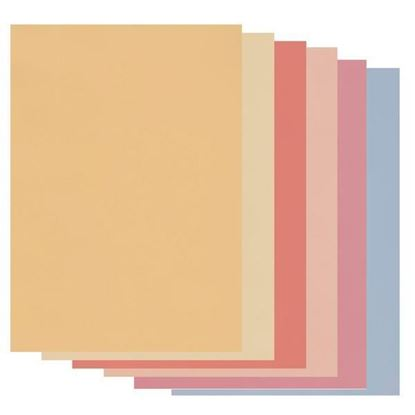 Clarity Groovi A4 Parchment Soft Tones Assortment