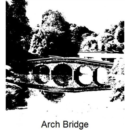 Imagination Crafts Art Stamp - Arch Bridge