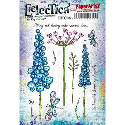Eclectica³ Kay Carley A5 Stamp Set 06