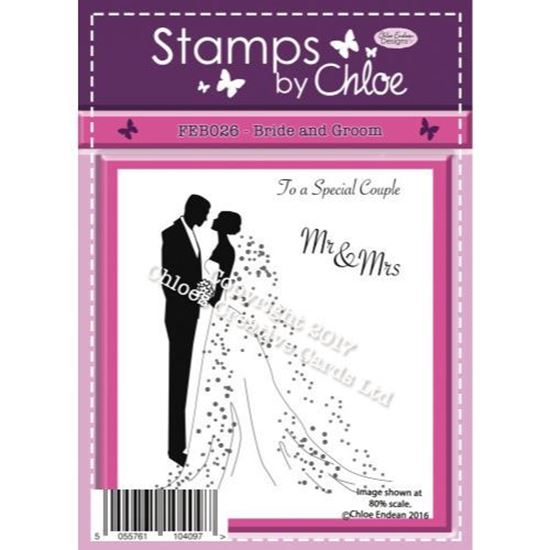 Stamps by Chloe -  Bride and Groom
