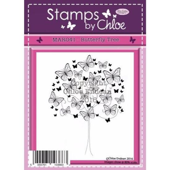 Stamps by Chloe - Butterfly Tree