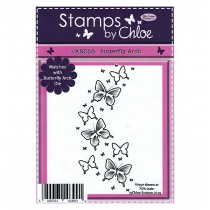 Stamps by Chloe - Butterfly Arch