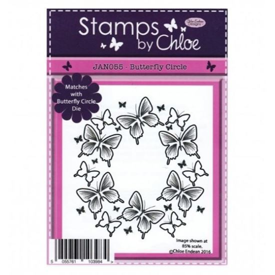 Stamps by Chloe - Butterfly Circle