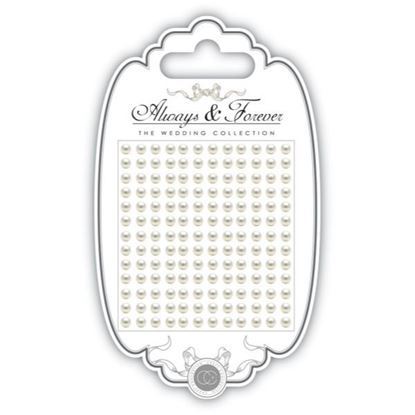 Craft Consortium Always and Forever The Wedding Collection Pearls 4.5mm