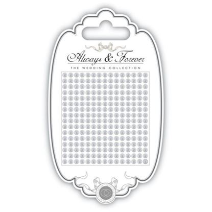 Craft Consortium Always and Forever The Wedding Collection Gems 4mm