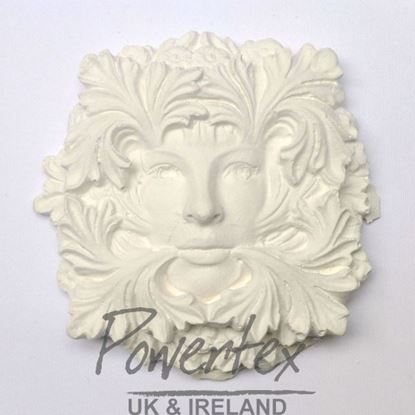 Green Man Plaster Cast