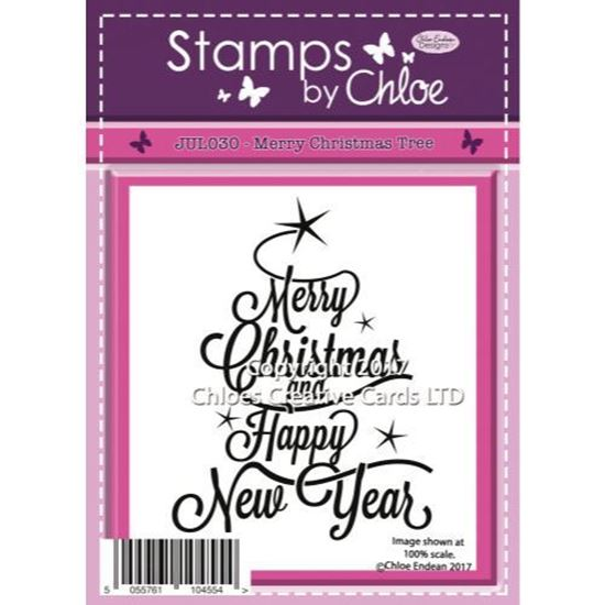 Stamps by Chloe - Merry Christmas Tree