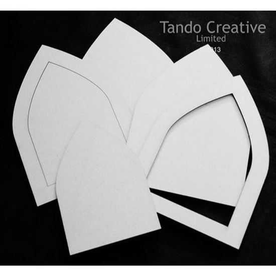 Tando Creative Greyboard Arches - Straight Edges Large