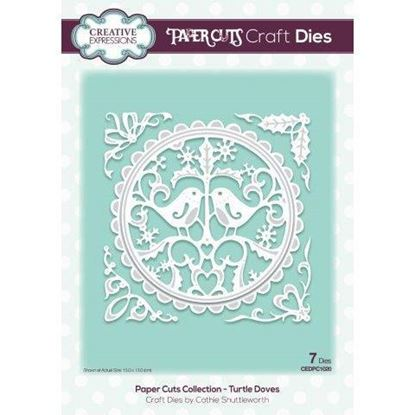 Creative Expressions Paper cuts Die - Turtle Doves