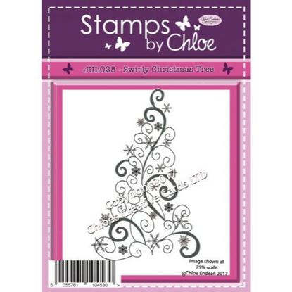 Stamps by Chloe - Swirly Christmas Tree