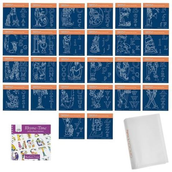 Nursery Rhyme Complete Collection - Groovi A6 Square Plates