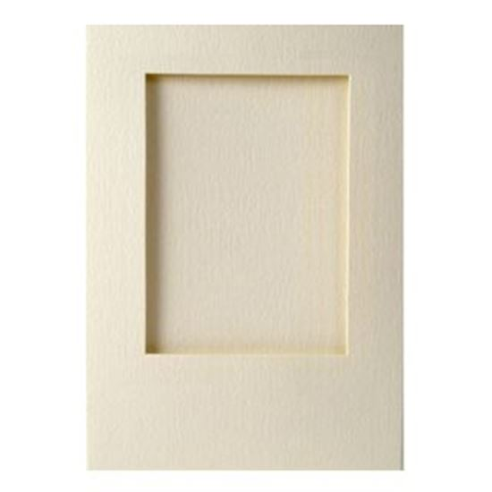 Picture of A6 Rectangle Appeture Cards & Envelopes