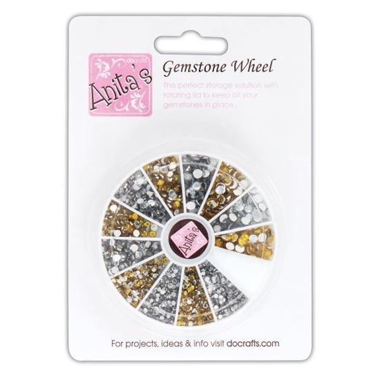 Picture of Gemstone Wheel Golds & Silvers