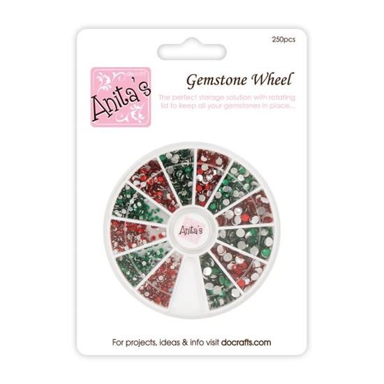 Picture of Gemstone Wheel Reds & Greens