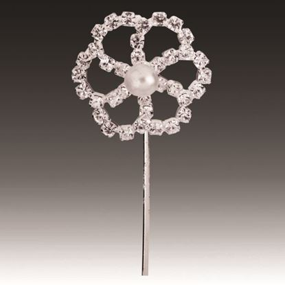 Picture of Diamante Pick Flower