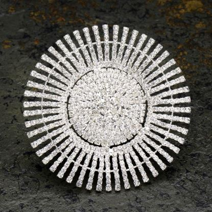 Picture of Diamante Sunflower Brooch
