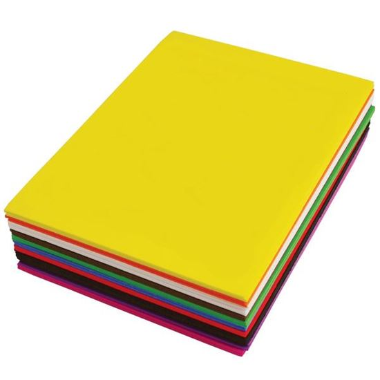 """Picture of 9"""" X 12"""" Funky Foam Assortment"""