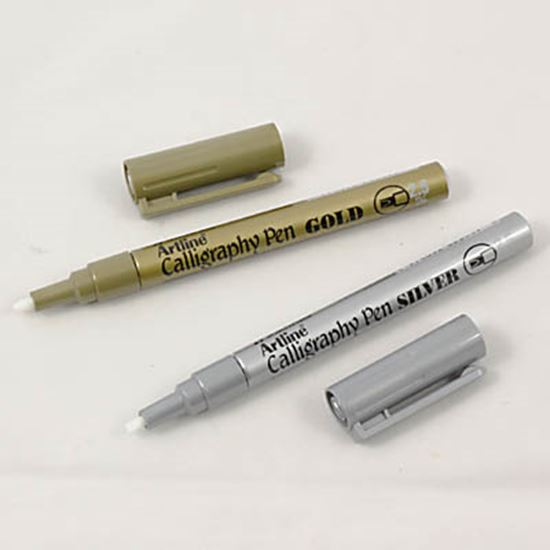 Picture of Artline Permanent Calligraphy Pen 2.5mm Tip