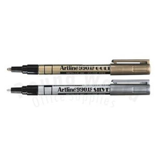 Picture of Artline 990XF Metallic Permanent Markers 1.2mmTip