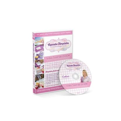 Picture of Cupcake Template Tutorial CD