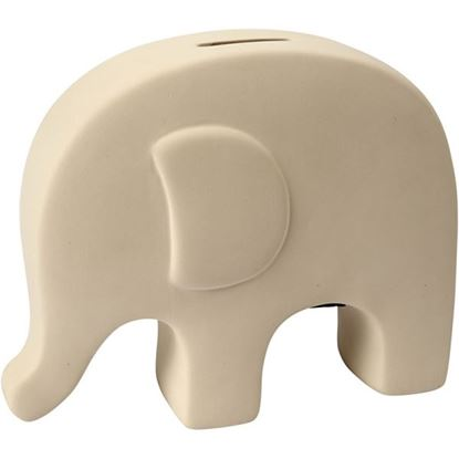 Picture of Terracotta Elephant Money Box  H:14cm L:16.7cm