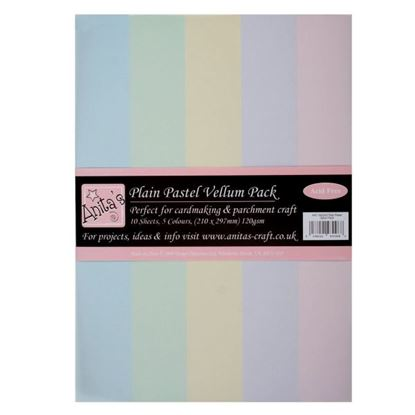 Picture of Parchment Vellum Plain Pastels