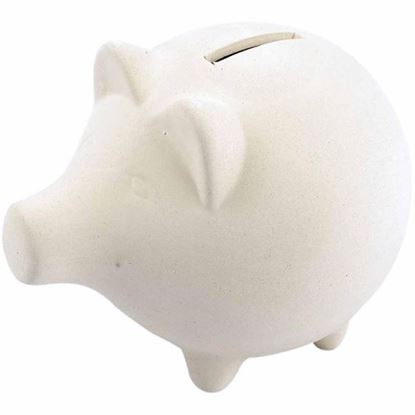 Picture of Terracotta Piggy Bank Large