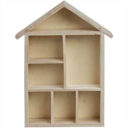 Picture of Wooden House Shelving System