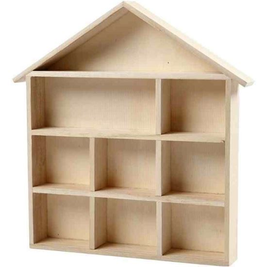 Picture of Wooden House ShelvingSystem