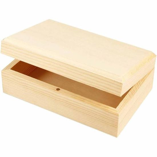 Picture of Wooden Jewellery Box Large