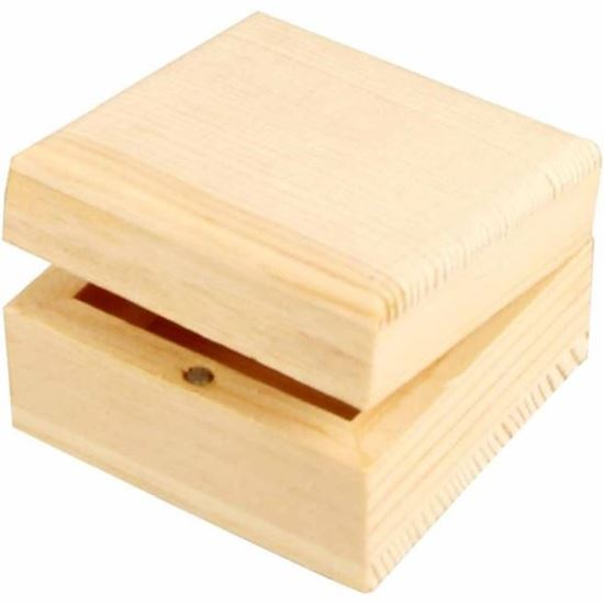 Picture of Wooden Jewellery Box Small