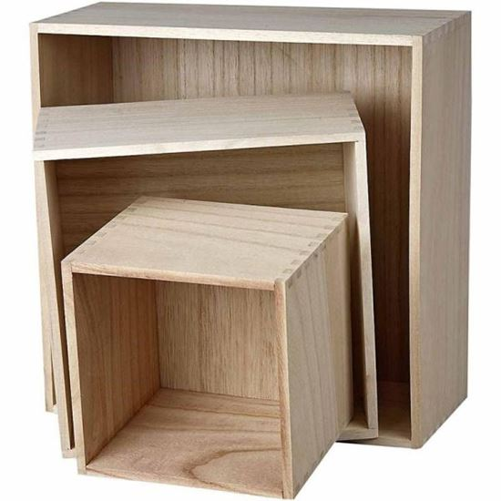 Picture of Wooden Storage Box Set