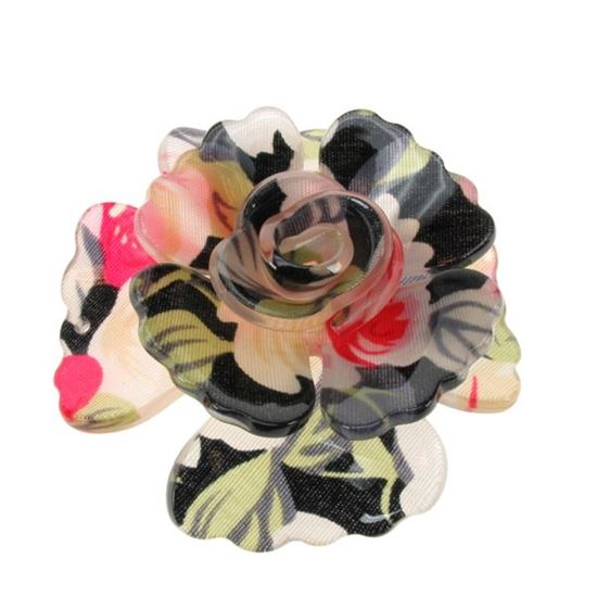 Picture of Vintage Style Large Acrylic Flower