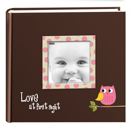 "Picture of Pioneer Album Baby Owl Pink 12"" x 12"""