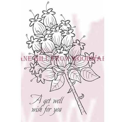 Picture of Woodware Clear Stamps Approx 140mm x 89mm