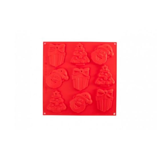 Picture of Silicone Xmas Cookie/Santa/Tree/Gift Mat