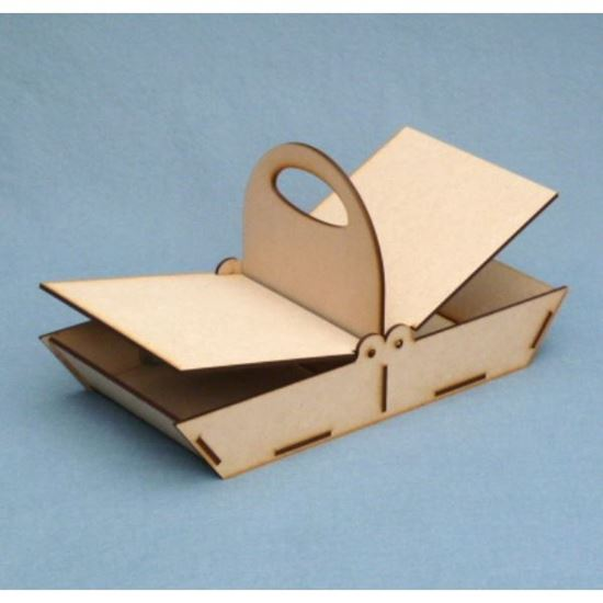Picture of MDF Shallow Trug Basket Kit