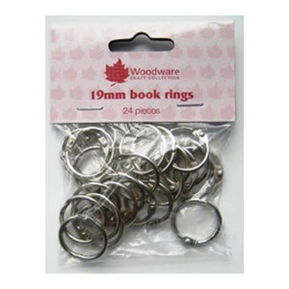 Picture of Book Binding Rings 3/4""