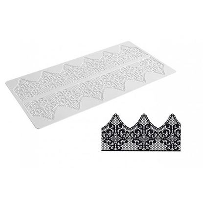 Picture of Silikomart Wonder Cakes Lace Mat - Fantasy
