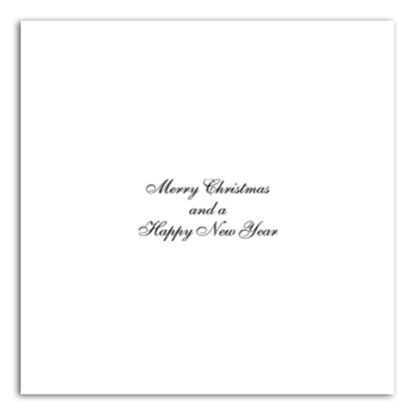 "Picture of Merry Christmas Inserts 8"" x 8"""