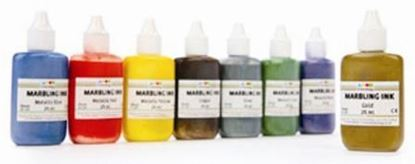 Picture of Marbling Inks Metallic