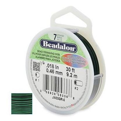 """Picture of Beadalon  Coloured Beading Wire .018"""""""