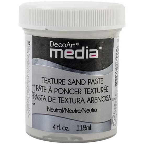 Picture of Deco Art Media Texture Sand Paste White
