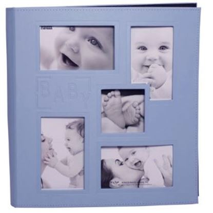 "Picture of 12"" x 12"" Baby Album 5 Window"