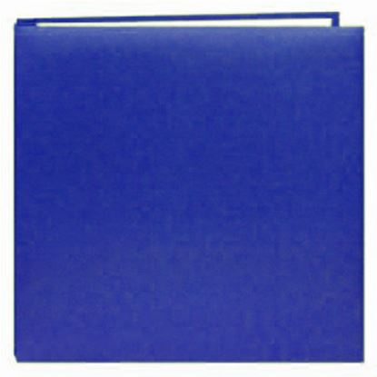 "Picture of 8"" x 8"" Plain Leatherette Album Navy Blue"