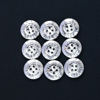 Picture of Crystal Round Buttons Pk10